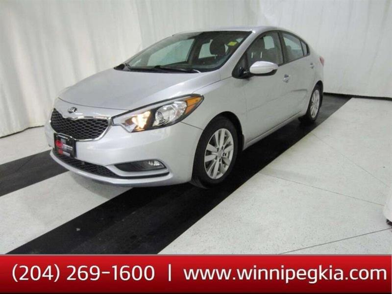 2016 Kia Forte LX+ *Always Owned In Manitoba!* #19FR424A