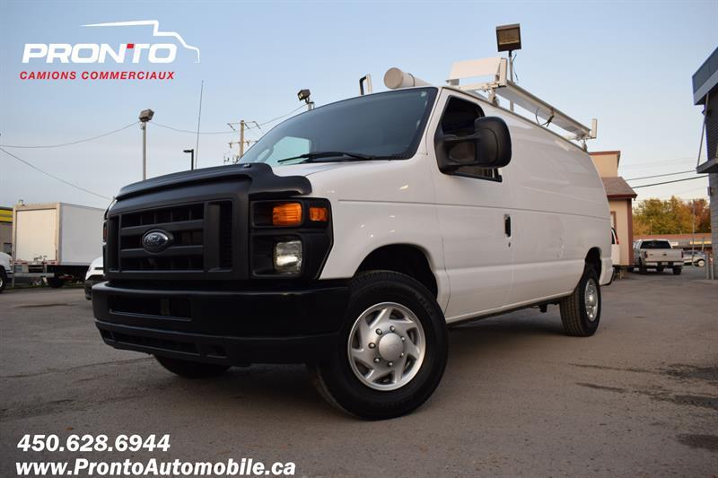 Ford Econoline Cargo Van 2013 ** 5.4L ** FULL RACK **  #1129