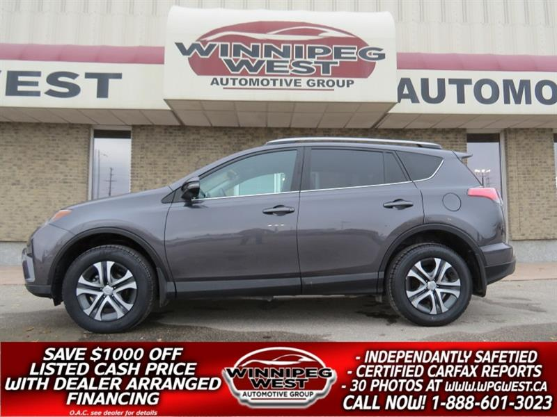 2017 Toyota RAV4 LE EDITION AWD WESTERN SUV, HTD SEATS, EXTRA CLEAN #GIW5280