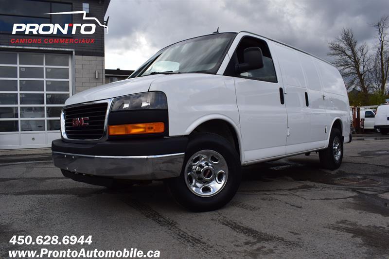 GMC Savana Cargo Van 2013 RWD 3500 Dual door ** Conversion propane **  #1131