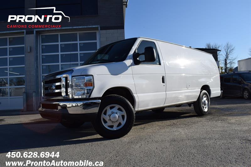 Ford Econoline Cargo Van 2013 E-350 Super Duty Ext Allongé  #1132