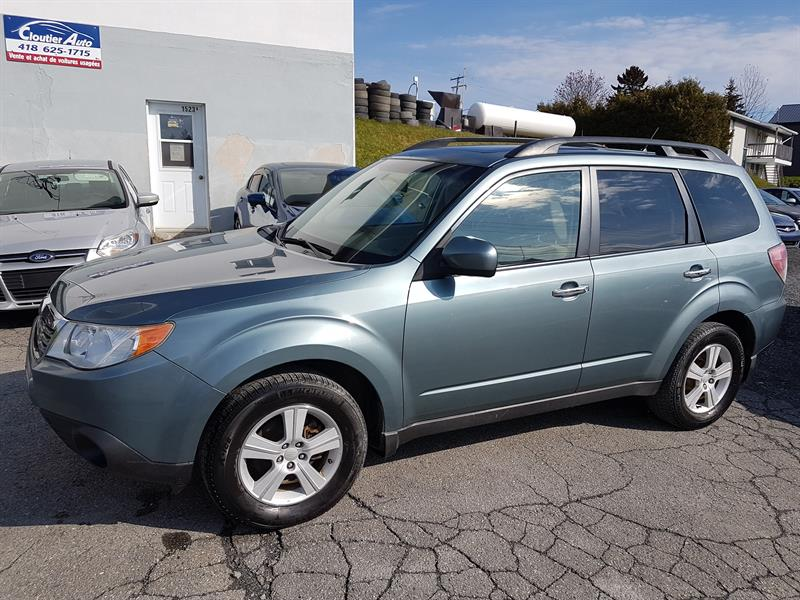 Subaru Forester (Natl) 2009 4dr Man X