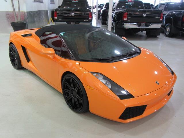 Lamborghini Gallardo 2007 SPYDER 5.0L V10 500HP #A5714
