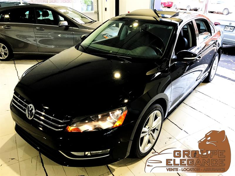 2014 Volkswagen Passat TDI HIGHLINE - NAV, REVERSE CAM, PUSH START, MOONROOF  #C084282