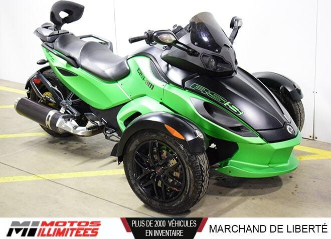 Can-am Spyder RS-S SM5 2012