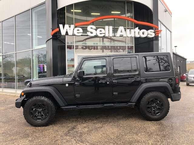 2017 Jeep Wrangler Unlimited Willys Wheeler #17JW55042