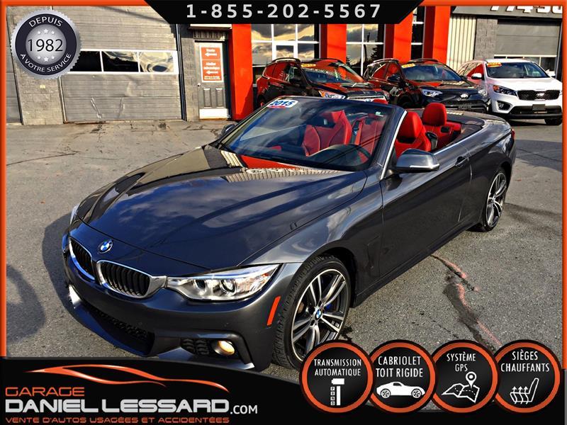 BMW 4 Series 2015 435i, AWD, VOL-RETROUVÉ, TRES LÉGER DOMMAGE #59680