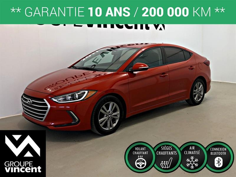 Hyundai Elantra 2017 GL ** GARANTIE 10 ANS ** #861AT