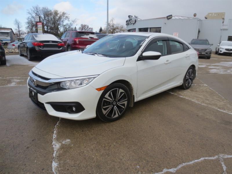 2017 Honda Civic Sedan 4dr CVT EX-T - Sunroof/Hts Seats/Camera/Bluetooth #4267