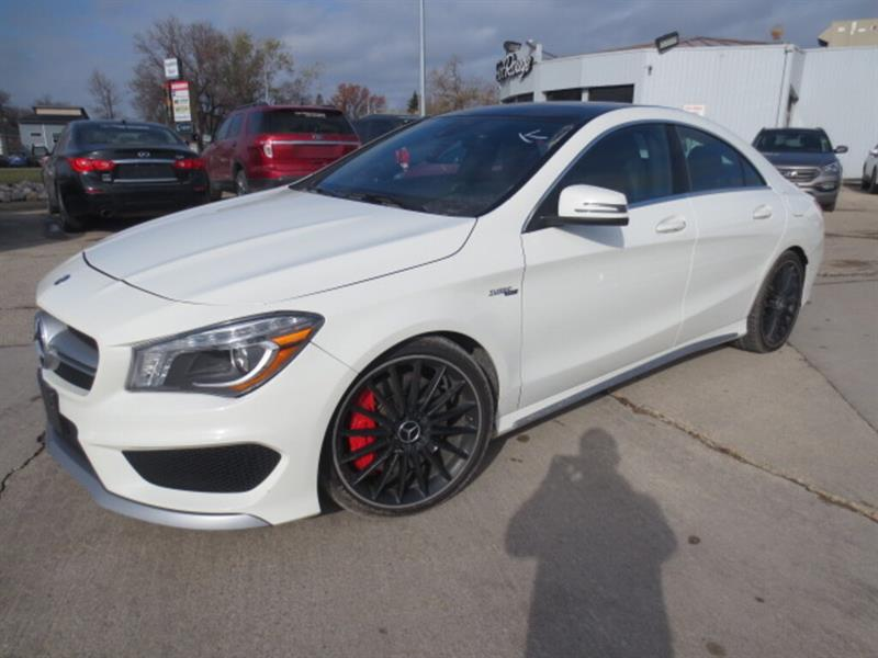 2014 Mercedes-Benz CLA-Class 4dr Sdn CLA45 AMG 4MATIC - Sunroof/Nav/Camera #4268