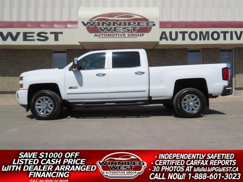 2019 Chevrolet Silverado 3500HD LT2 Z71 OFF RD 4X4 DURAMAX , HTD LEATHER, AS NEW! #DW5203