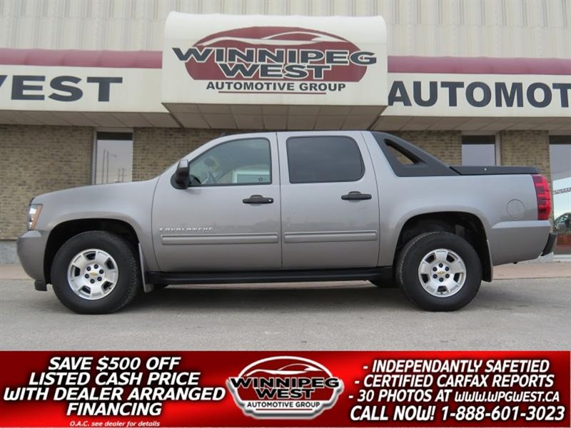 2009 Chevrolet Avalanche LS CREW CAB 5.3L V8 4X4, LOW KM, IMMACULATE, LOCAL #GW5299