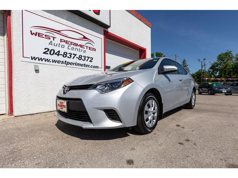 2016 Toyota Corolla Low KMS.* A/C *Power Group #5574