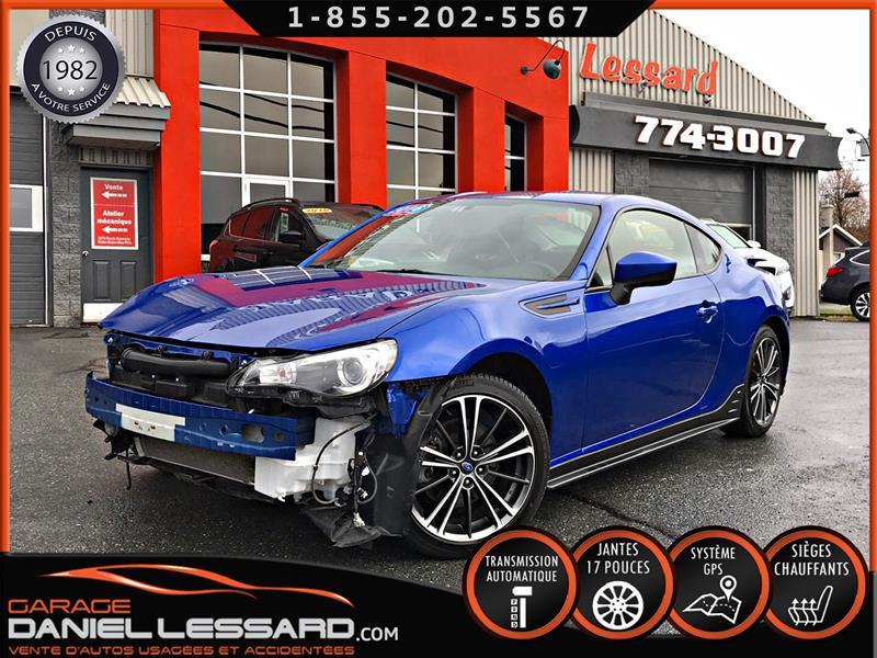Subaru Brz 2016 SPORT-TECH AUTOMATIQUE, GPS, BAS KM, LÉGER DOMMAGE #69682