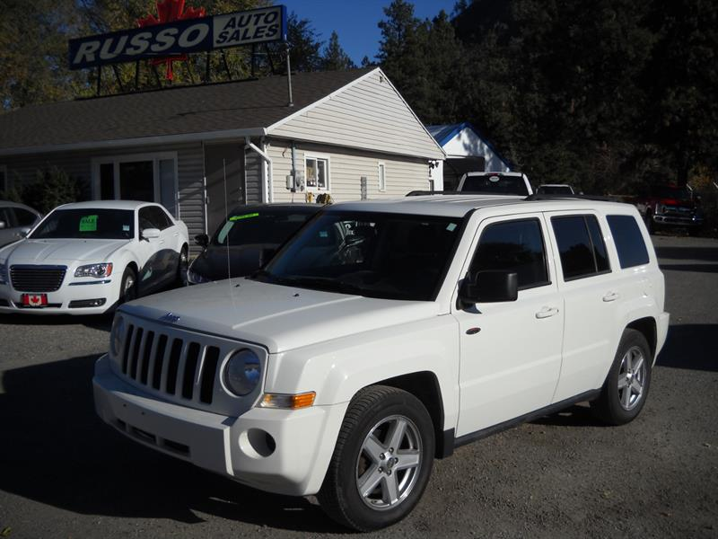 2010 Jeep Patriot SPORT 4X4, ONLY 130 KMS #A8054