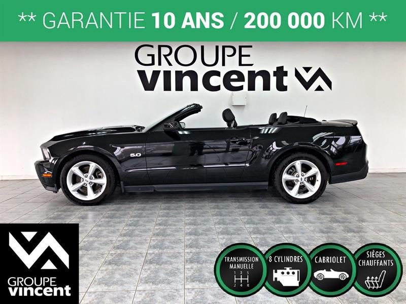 Ford Mustang 2012 GT 5.0L CONVERTIBLE ** GARANTIE 10 ANS** #Y2369AM