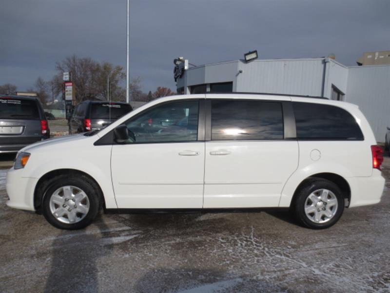 2011 Dodge Grand Caravan 4dr Stow n Go - Rear A/C/Heat #4239
