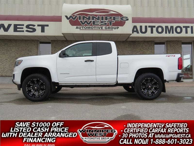 2016 Chevrolet Colorado LIFTED 4X4, LOADED, BIG LOOKS, BIGGER VALUE!! #GWL5294