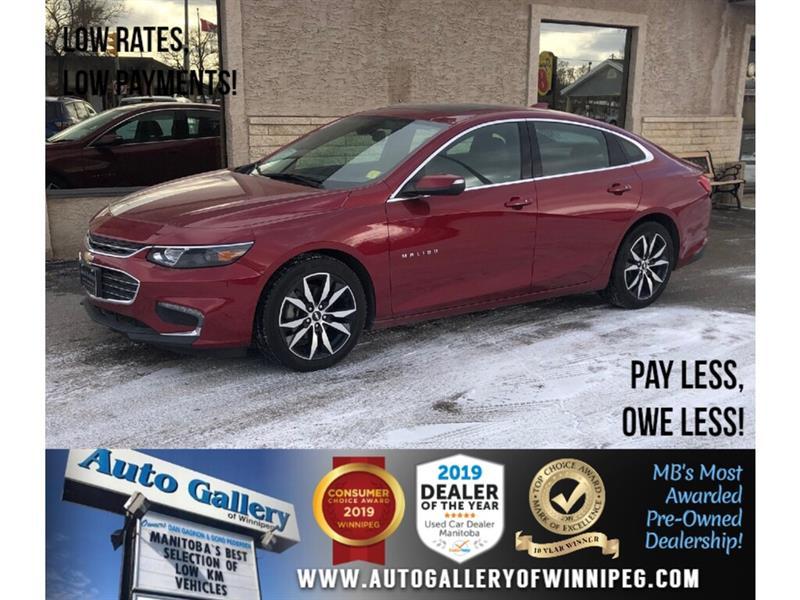 2017 Chevrolet Malibu LT *Navi/Bluetooth/Htd Lthr/Roof #23898