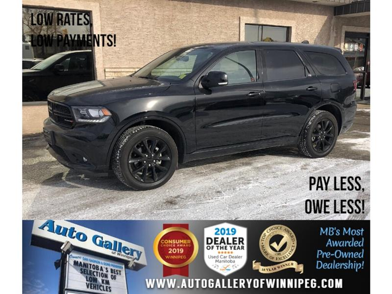2018 Dodge Durango GT *Local Unit/AWD/Navi/Htd Lthr/2DVD/7Pass #PR-23984