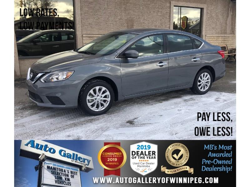 2019 Nissan Sentra SV *Accident-Free/Roof/B.tooth/Back.Cam/Htd Sts #24051