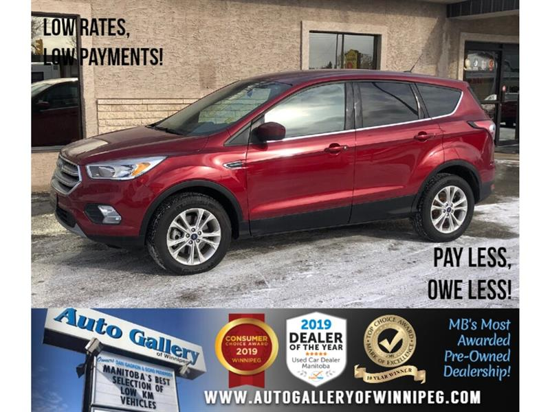 2017 Ford Escape SE *1 Owner/Accident Free/4x4/B.tooth/Htd Seats #24089