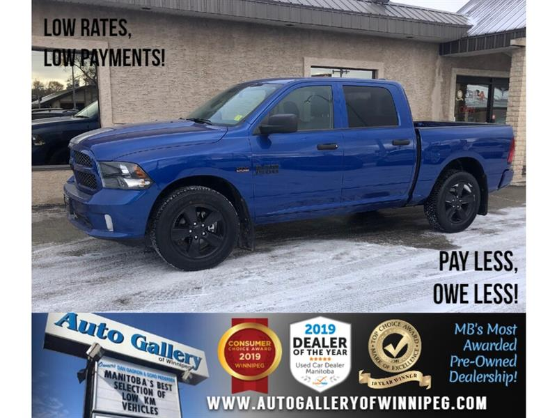 2018 Ram 1500 Express *4x4/HEMI/Bluetooth/Back.Cam #24097