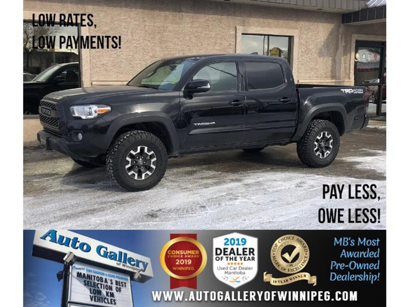 2017 Toyota Tacoma TRD Offroad *4x4/Navi/B.tooth/Htd Sts/Back.Cam/V6 #24101