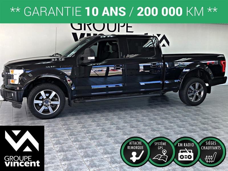Ford F-150 2016 FX4 SPORT GPS CREW CAB 4X4 ** GARANTIE 10 ANS ** #A0203S