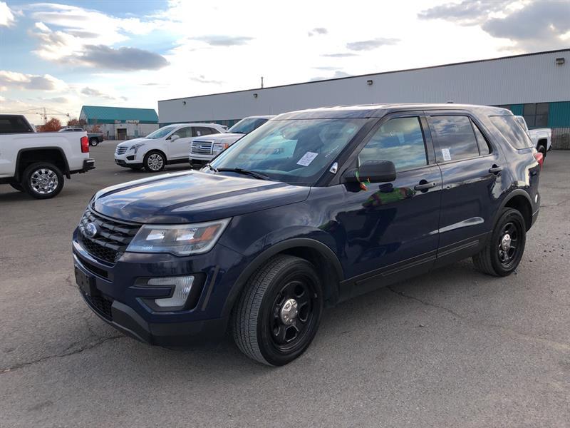 Ford Explorer 2017 AWD POLICE INTERCEPTOR  #A7400