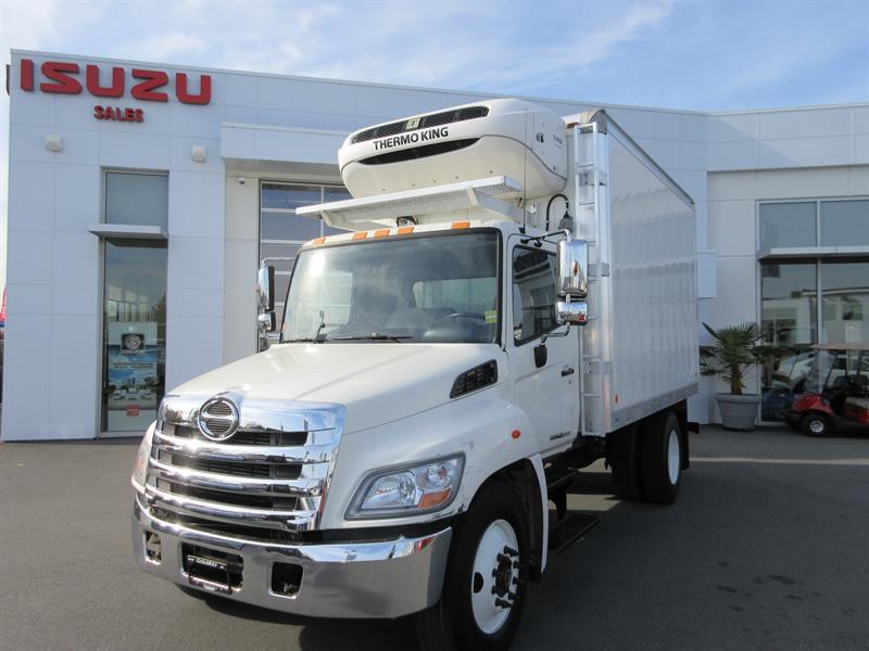 2012 Hino 268 14Ft Reefer Van  TK T680- R Diesel Reefer #T11861