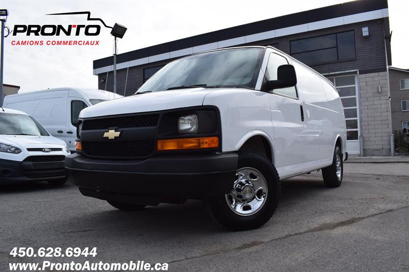 Chevrolet Express Cargo Van 2014 2500 Full rack ** Camera de recul **  #1145