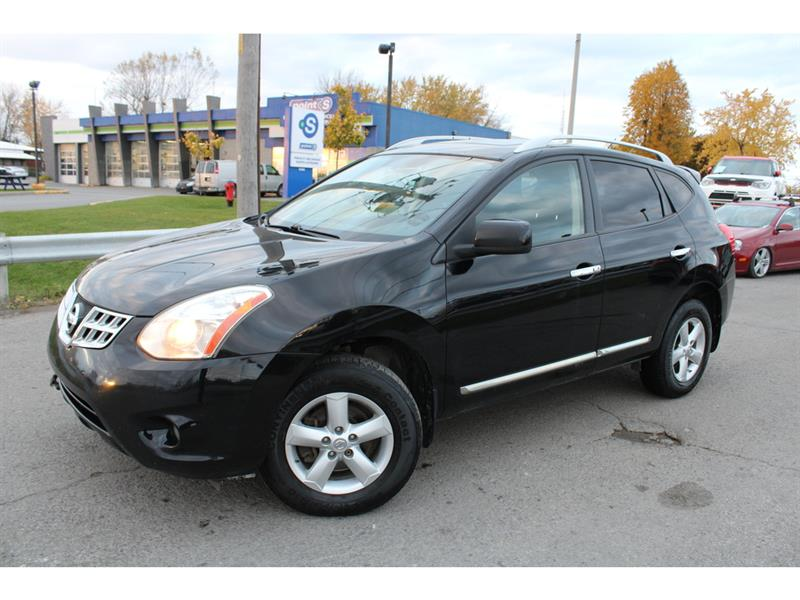 Nissan Rogue 2013 AWD S A/C CRUISE TOIT OUVRANT!!! #4826