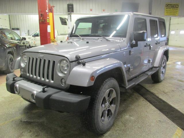 2016 Jeep Wrangler Unlimited 4WD 4dr Sahara #1158-2-57