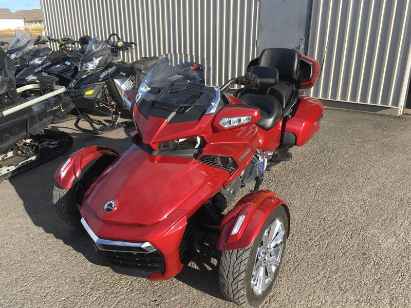 Can-am F3-LTD 2018 SE6 CHROME #34572RDL