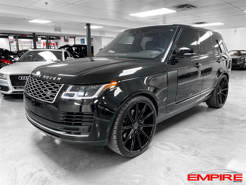 Land Rover Range Rover 2018 V8 SUPERCHARGED #A7099