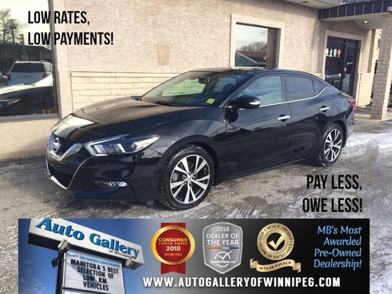 2017 Nissan Maxima Platinum *Navi/B.tooth/Htd Lthr/Pano Roof/V6 #PR-24078