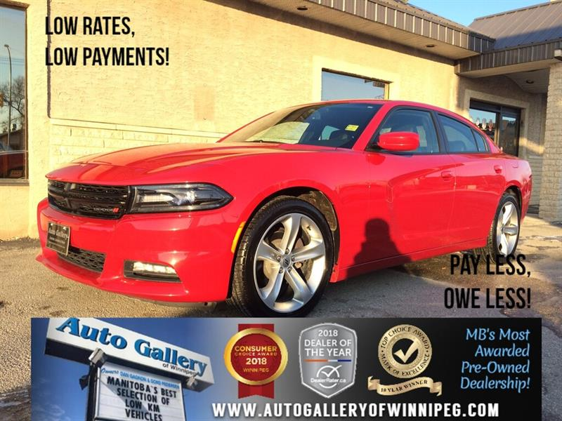 2017 Dodge Charger SXT *RWD/B.tooth/Htd Lthr/Roof #23875A
