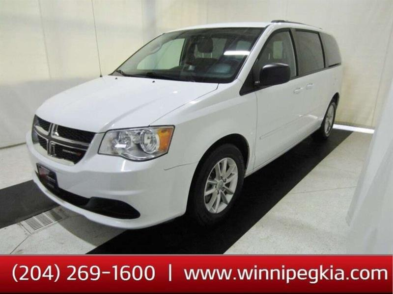 2014 Dodge Grand Caravan SXT *DVD Player, Always Owned In MB!* #19SR545A
