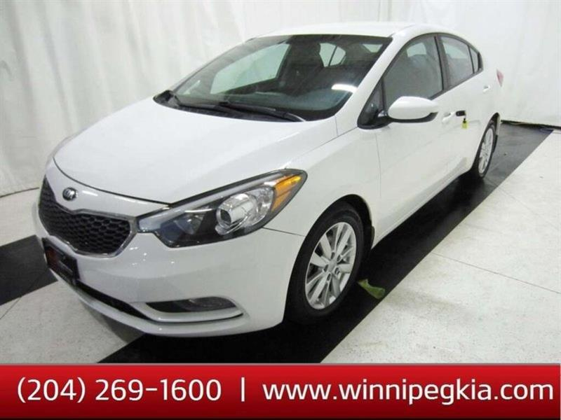 2016 Kia Forte LX+ *Always Owned In Manitoba!* #20SP538A