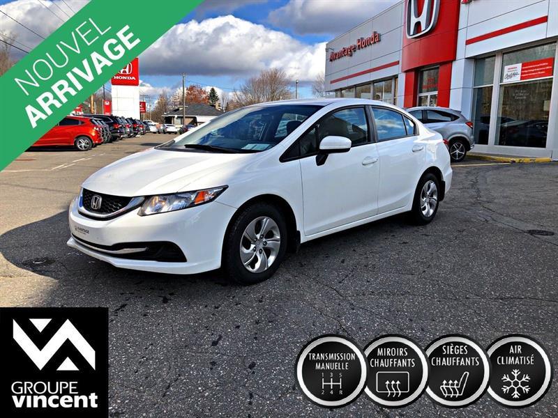 Honda Civic 2014 LX ** GARANTIE 10 ANS ** #C0912AH-vfl