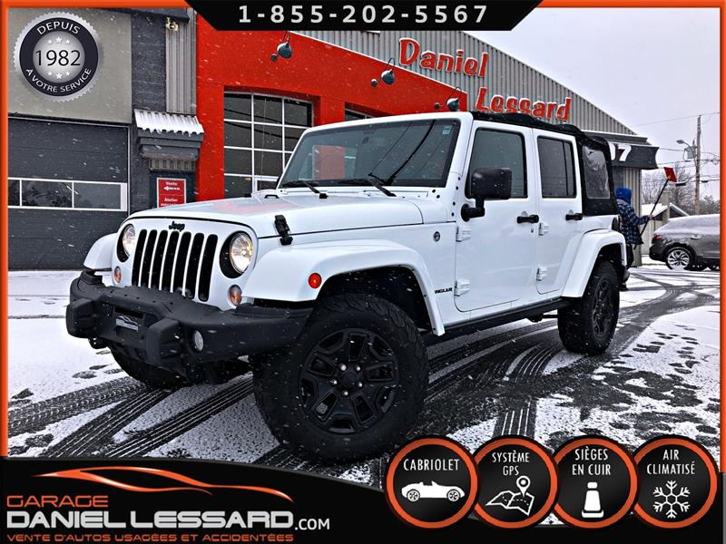 Jeep Wrangler Unlimited 2016 BACK COUNTRY EDITION, CUIR, GPS, HITCH ET ++ #69725
