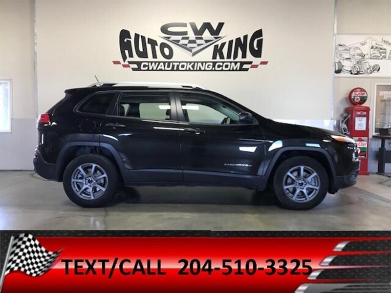 2015 Jeep Cherokee Sport/4x4/Heated Seats-Steering/Rear Cam #20042483