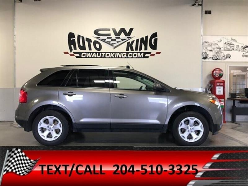 2013 Ford EDGE SEL/AWD/Heated Leather/Pan Roof/Nav/Bluetooth/Cam #20042501