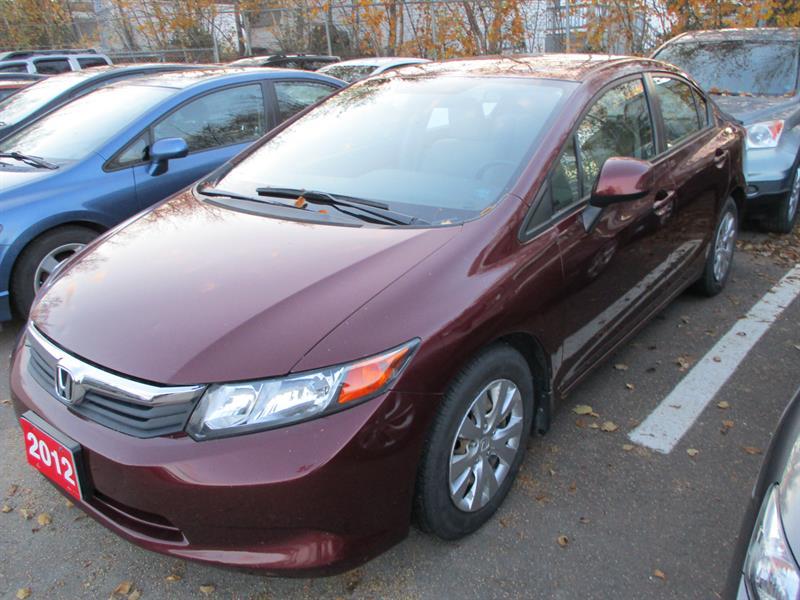 Honda Civic Sdn 2012 4dr Auto LX #CH052207A