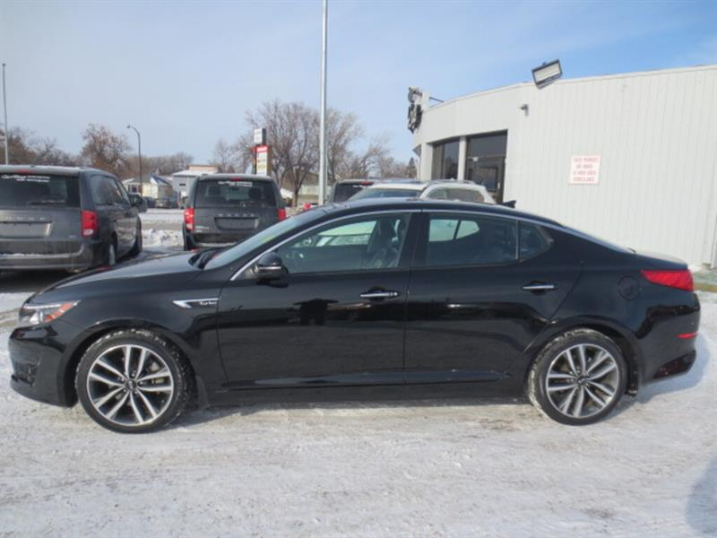 2015 Kia Optima 4dr Sdn Auto SX Turbo - Sunroof/Nav/Lthr #4255