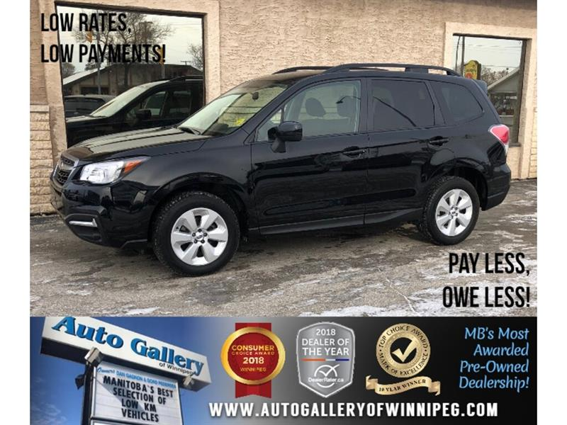 2018 Subaru Forester Convenience *AWD/B.tooth/Back.Cam/Htd Seats #24098