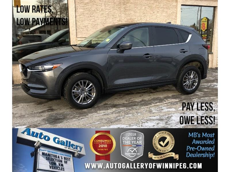 2018 Mazda CX-5 GS *AWD/B.tooth/Back.Cam/Roof/Htd Lthr #PR-24136