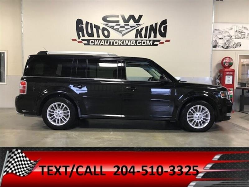 2013 Ford Flex SEL/ AWD/7-Passanger/Low K/Leather/Roof/Bluetooth #20042519