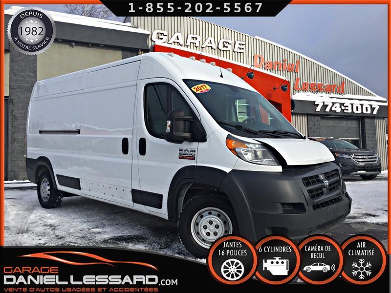 Ram ProMaster Cargo Van 2017 2500  ** RÉFRIGÉRÉ ** HIGH ROOF 159 WB, TRÈS RARE #79710